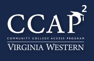 CCAP 2 Logo White on Blue