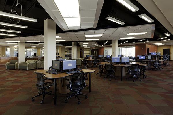 Brown Library - Main Floor
