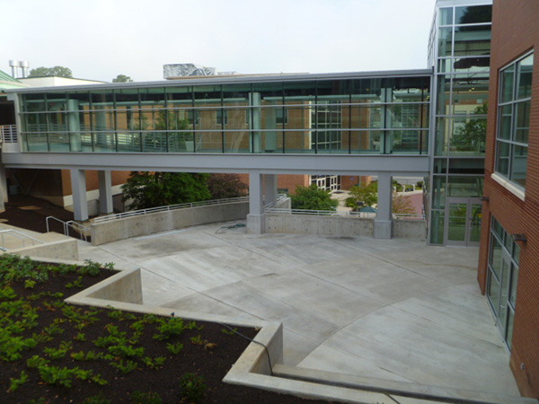 Student Life Center - 2nd Floor Plaza