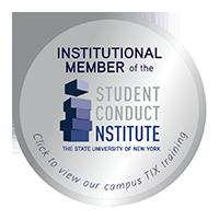 Student Conduct Institute Membership badge