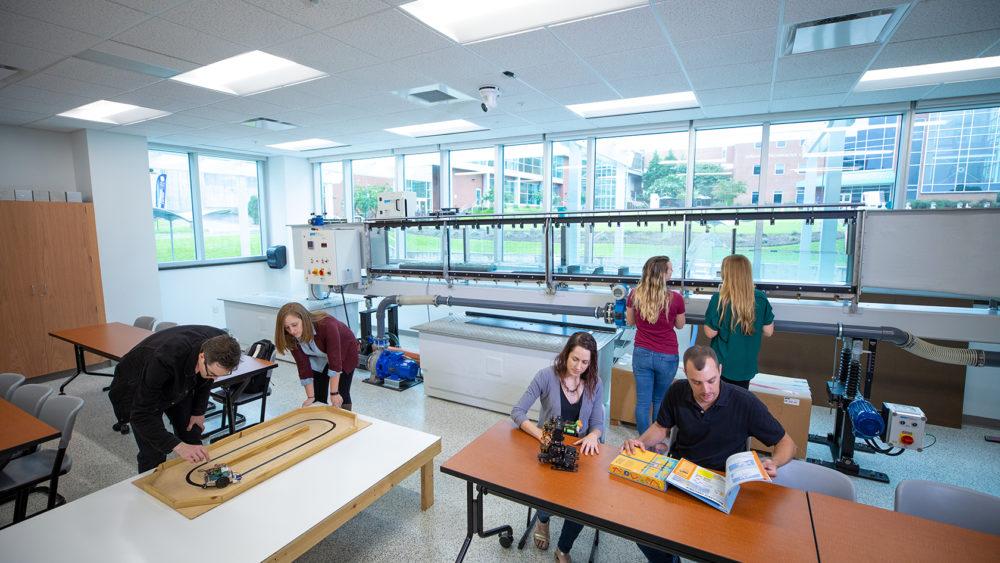 Lab in STEM Building