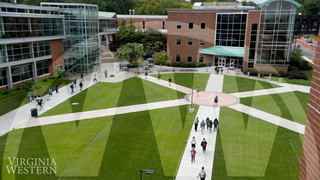 Zoom Background - Courtyard
