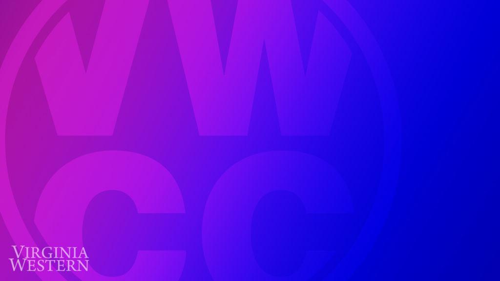 Zoom Background - purple gradient