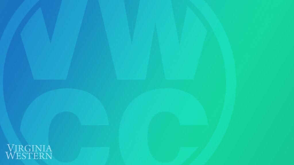 Zoom Background - blue gradient