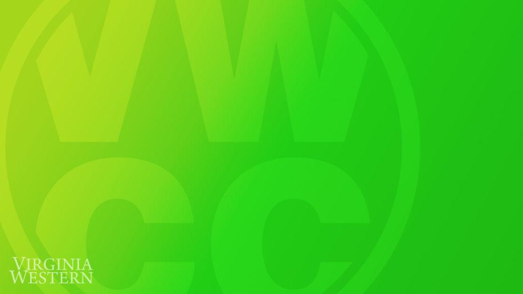 Zoom Background - green gradient